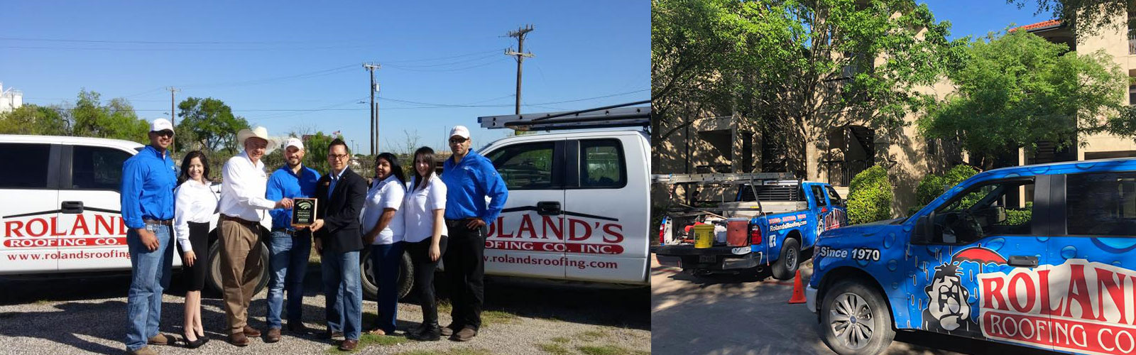Roland's Roofing Images